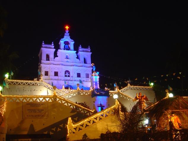 Goa Christmas places India