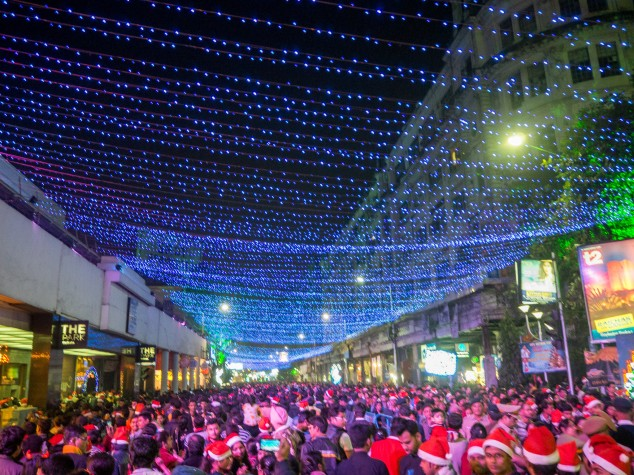 Kolkata Christmas places India